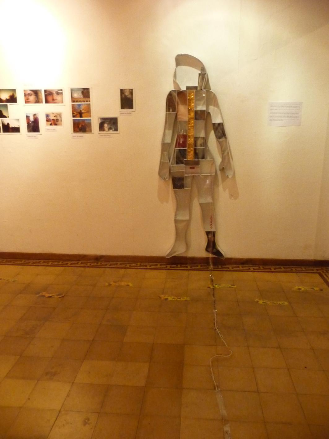 El cuerpo y sus formas, tesis Artes Visuales