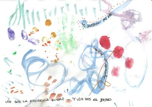 Alicia Deymié (Ejercicios en papel a partir de reflexiones propias sobre la belleza.)
