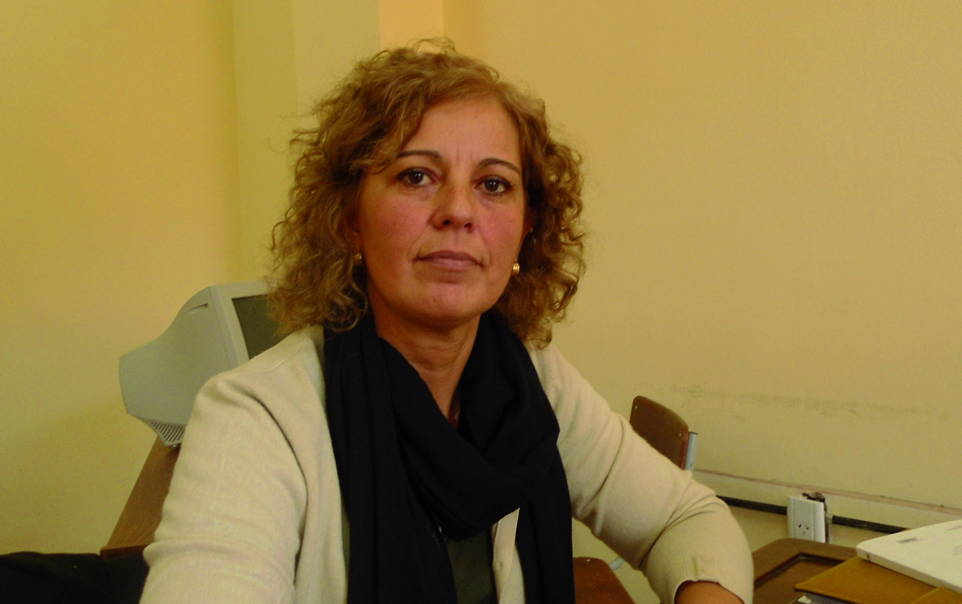 Geraldine Conte-Grand, profesora de Psicología y licenciada en Ciencias de la Educación