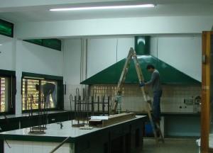 Laboratorio en la EIDFS