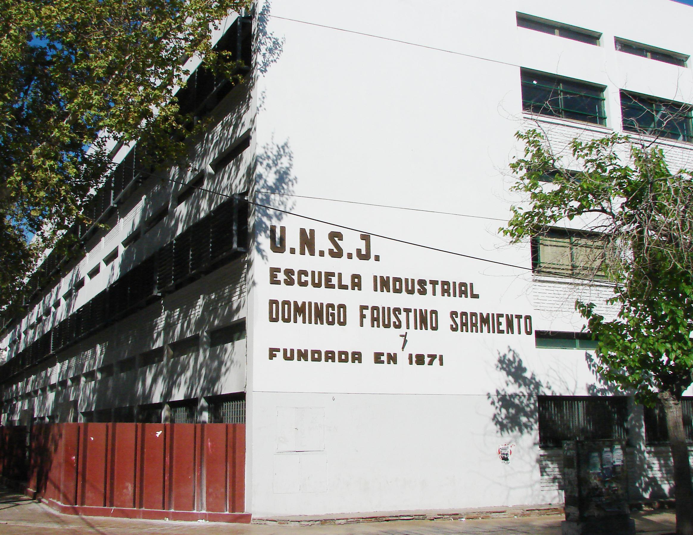 Escuela Industrial DF Sarmiento de la UNSJ