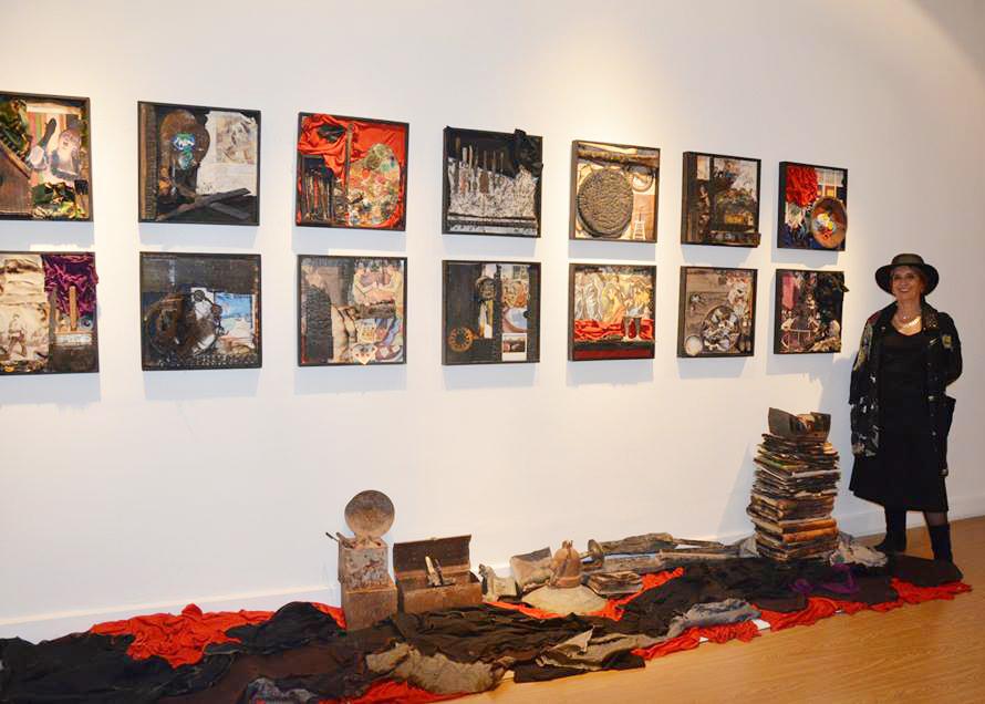 Exposición de Silvina Martínez en el MBEFR