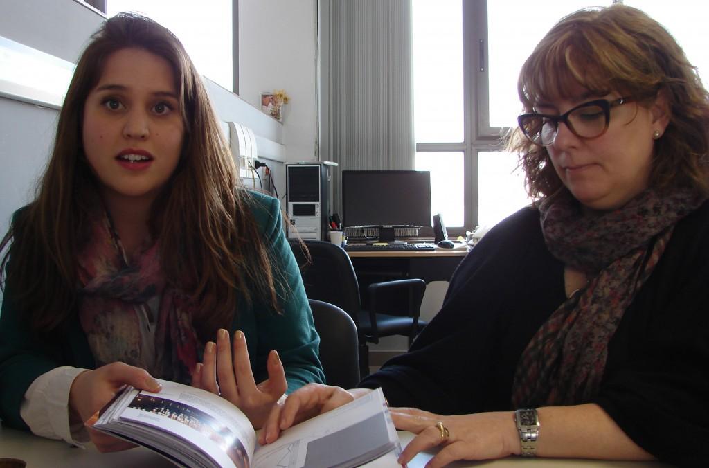 Arquitectas Julieta Lazarte y M Victoria Otero, autoras del proyecto