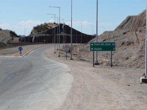 Ruta a Huaco