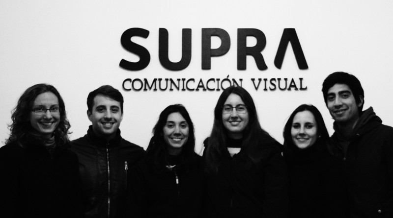 El equipo de Supra Comunicación