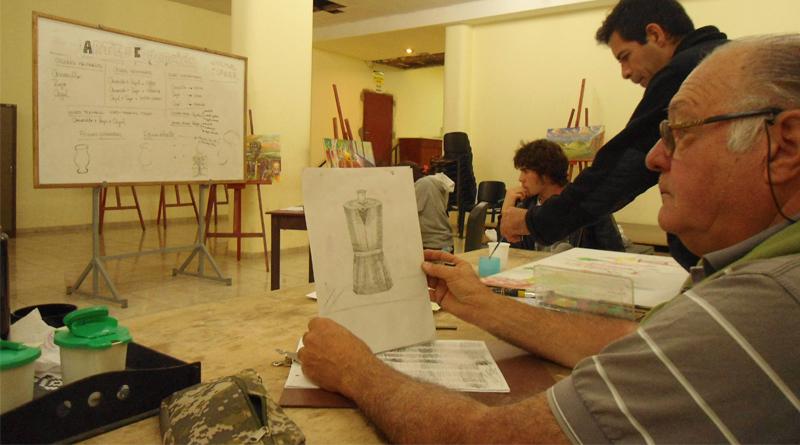 Carlos Motión Taller de Arte de la UNSJ
