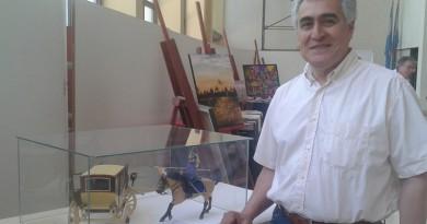 Jorge Rodríguez en la muestra PAUSA de la UNSJ