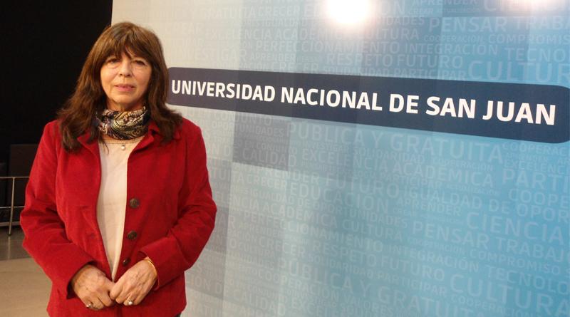 """""""En San Juan cualquier excusa es buena para que los jóvenes pasen la noche en una celda"""" (Cristina Nacif)"""
