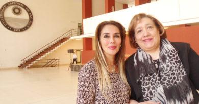 Natalia Mariel y Mercedes Palacio, responsables de la Cátedra Libre