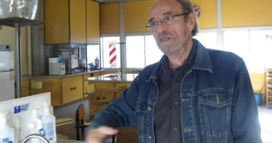 Dr. Omar Baudino, coordinador por la UNSJ de la Cátedra del Agua