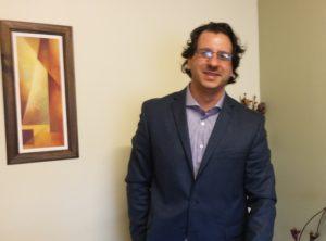Conrado Suárez Jofré, abogado, docente y director de Ciencias Jurídicas de la Facultad de Ciencias Sociales de la UNSJ.