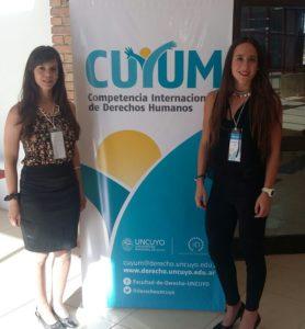 Daniela Calmels y Agostina Arancibia en Cuyum 2016