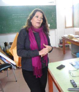 Arq. Nelly León, presidenta de SEMA San Juan