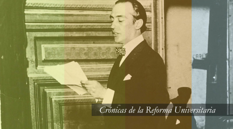 Deodoro Roca y el ideario de la Reforma