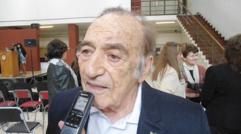 Miguel Ángel Estrella en la UNSJ