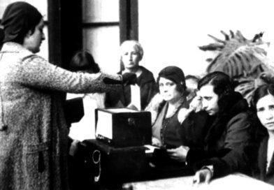 Las primeras mujeres elegidas por voto universal