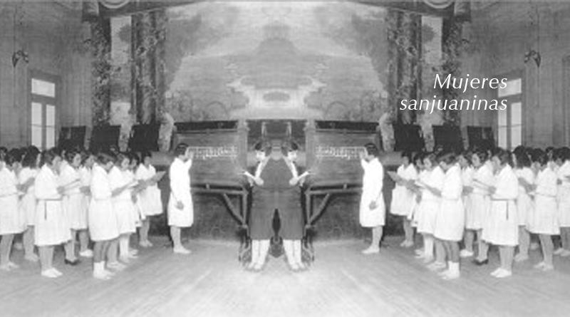 Las mujeres sanjuaninas y la música