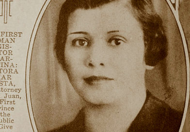 Emar Acosta, primera mujer legisladora de América Latina
