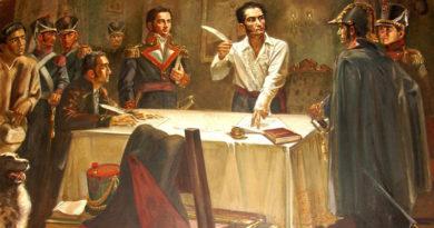 El_Libertador_Simón_Bolívar,_Firma_Decreto