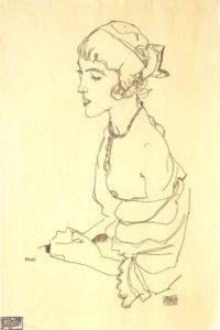 Egon_Schiele_-_Poldi__1914
