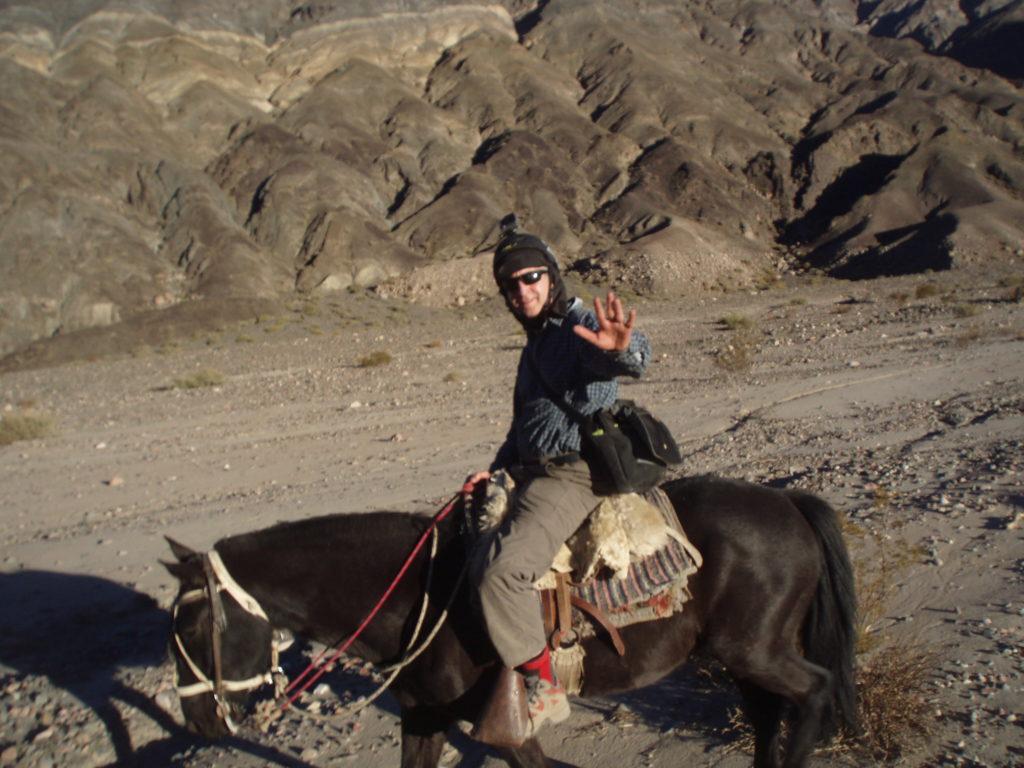 Agustín Arroqui, en la búsqueda de arcillas