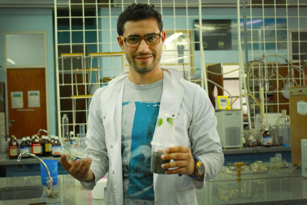 Juan Aguilera Sammaritano, doctor en Ciencias Biológicas.