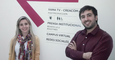 Licencidad en Geofísica, Ana Carolina Rivas y Gustavo Ortiz, geólogo