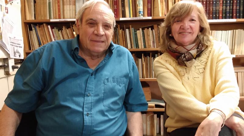 Dr. César Fernández y la especialista Aída González