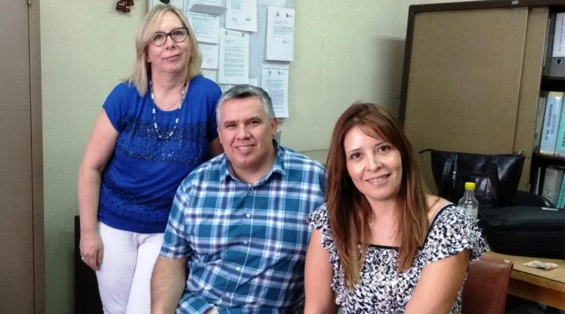 Dra. Graciela Acosta, Lic. Ricardo Villavicencio y Dra. Cristina Mazuelos