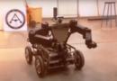 El robot desinfectante