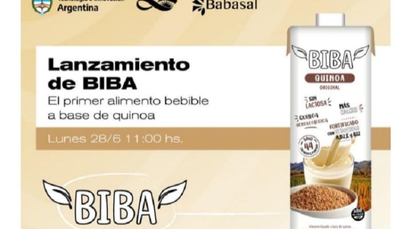 El primer alimento bebible de quinoa lleva producción sanjuanina y llegará a las góndolas